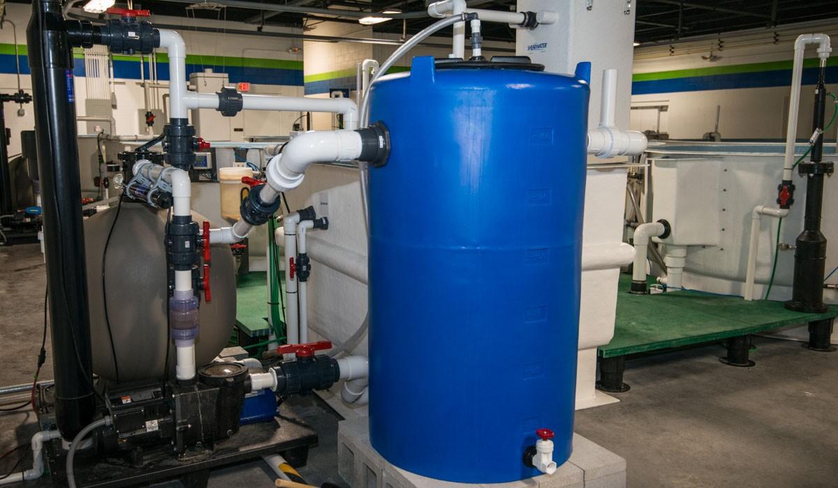 Low-Space Bioreactor Filter